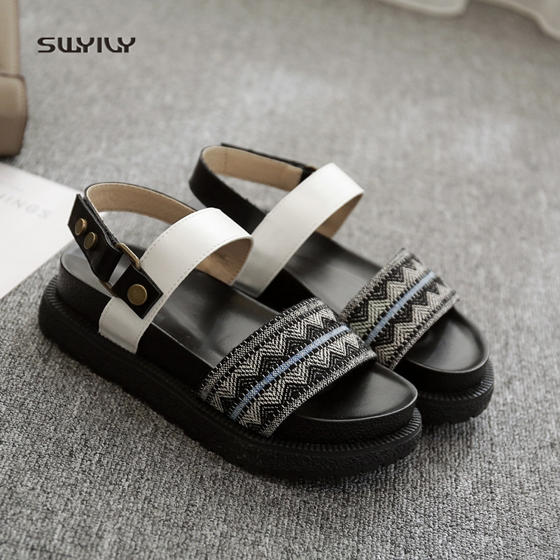 6e1bca39057d SWYVIY-Sandals-Woman-Shoes-Summer-2018-Retro-Female-Casual-Shoes -One-Belt-Lady-Sandals-Shoes-Flat.jpg