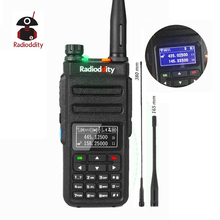 Radioddity GD-77BB Dual Band Time Slot DMR Digital Radios Inverted Display Ham Two Way Radio Walkie Talkie