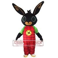 real shot rabbit BING Mascot costume bunny mascot costume Fancy Dress Christmas Cosplay for Halloween Purim fancy dress