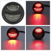 Universal Integrated Taillight Brake Running Light For Harley Sportster Softail Road King Roadster Bobbers Choppers