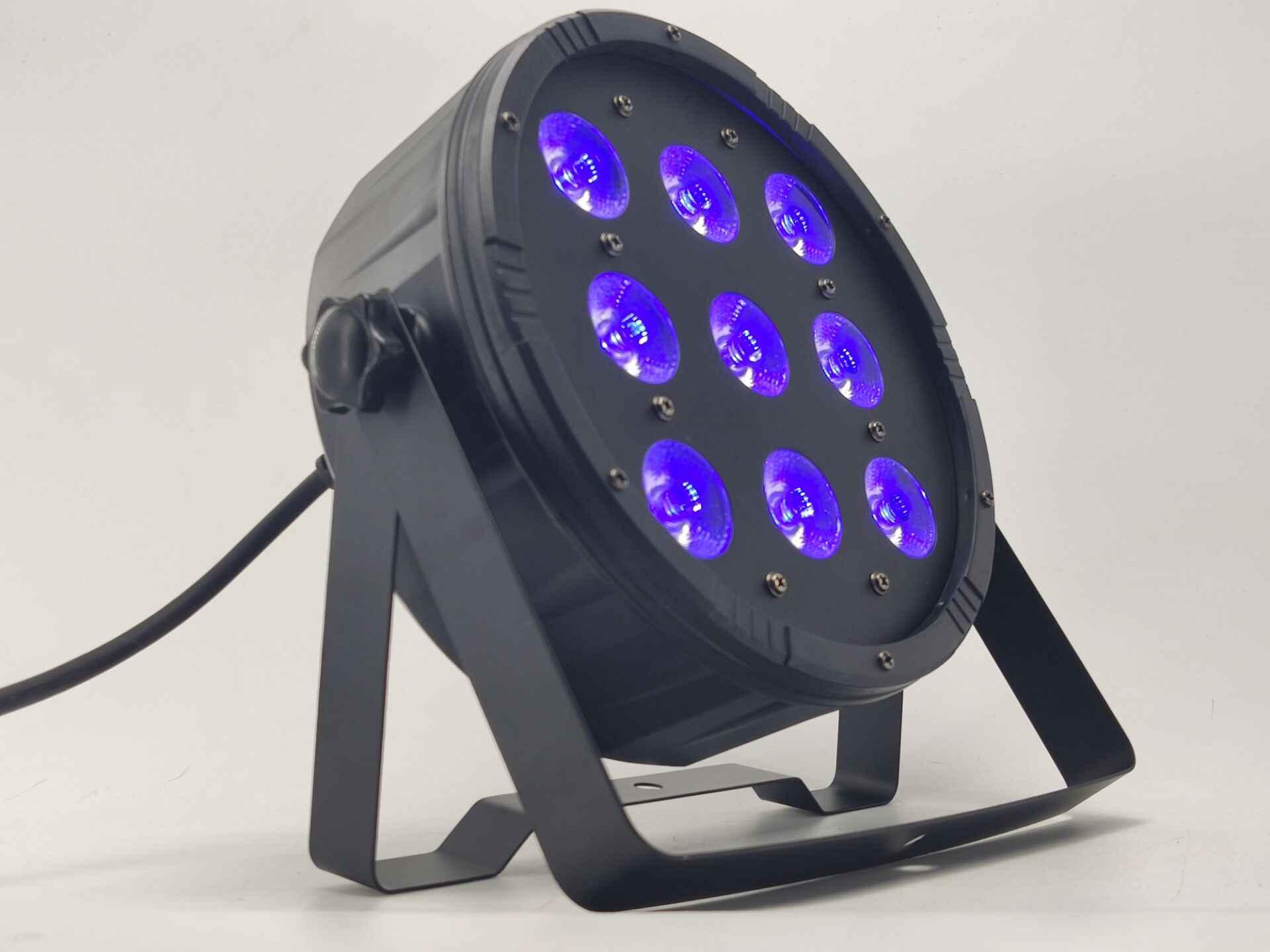 9X12 W RGBW LUCE PAR del LED DMX512 controllo discoteca luce professionale fase attrezzature DJ led della lavata di luce