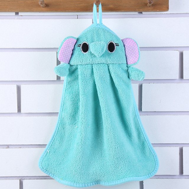 Cartoon Animal Shaped Baby Hand Towel