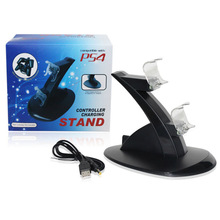 Hot Sale Wireless Controller PS4 Charger Dual USB Charging Dock Stand for Sony Playstation PS4