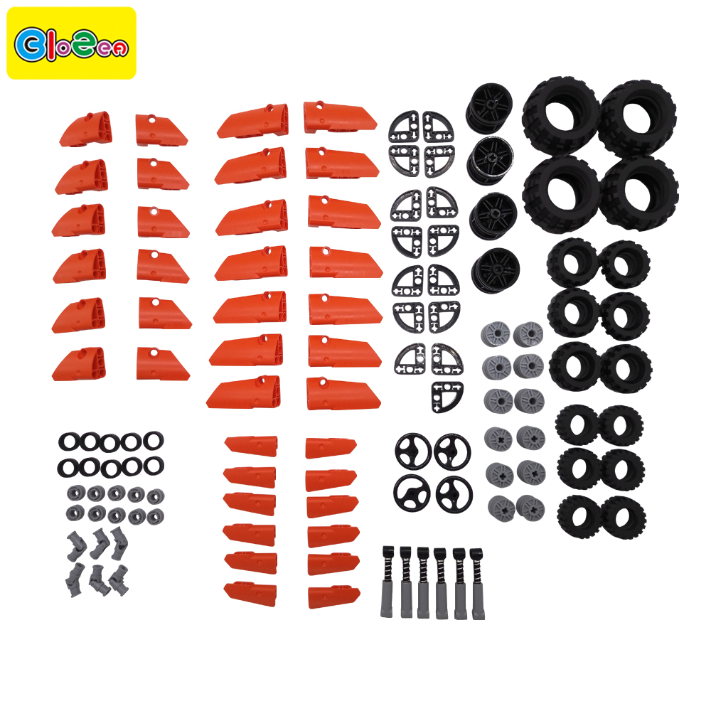 121pcs New model building blocks accessories enlighten bricks parts block technic designer kids boys educational toys connector mtele brand 62 pcs pcs magnetic tiles designer construction kids educational toys creative bricks enlighten toy