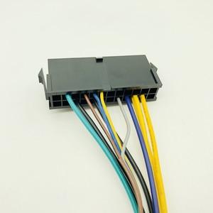 30 CM Modulare Netzteil Kabel ATX 24Pin 24 Pin Weibliche zu 6Pin 6-Pin Männlichen Mini 6Pin Stecker für HP Elite 8100 8200 8300 800G1