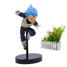 Amine Doll Dragon Ball Z ULTIMATE SOLDIERS SUPER Son Goku Vegeta PVC Action Figure Collection Model Christmas Toy 19 cm