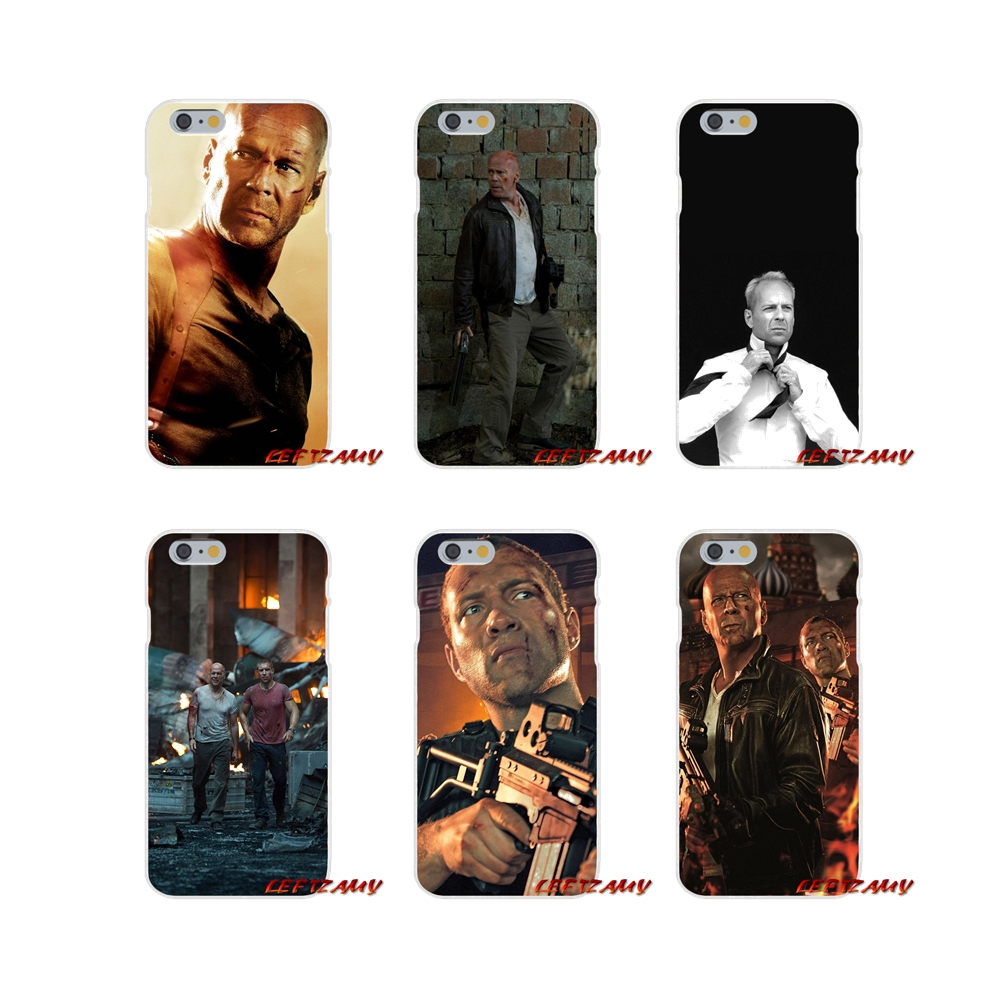 Live Free Or Die Hard Bruce Willis For Samsung Galaxy A3 A5 A7 J1 J2 J3 J5 J7 2015 2016 2017 Accessories Phone Cases Covers