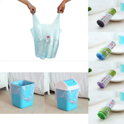 1Roll Small Garbage Bag Trash Bags Durable Disposable Plastic Home Kitchen Tool