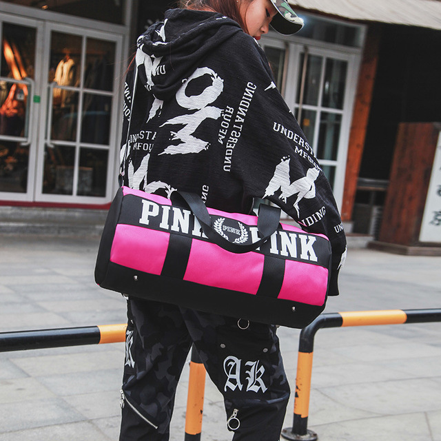 Pink Gym Bag  1