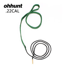 Ohhunt Hunting Bore Snake Gun Cleaning .22 Cal .221 .222 .223 i 5.56mm Boresnake Rifle Cleaner Kit