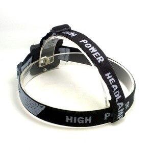 Image 5 - Tinhofire Portable Adjustable Gray Head Strap Mount Headband For LED Headlight Headlamp Flashlight Torch Lamp Light With O Ring