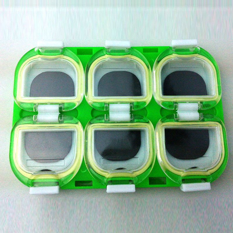 Magnetic Compartments Fly Fishing Lure Spoon Hook Storage Case Tackle Box