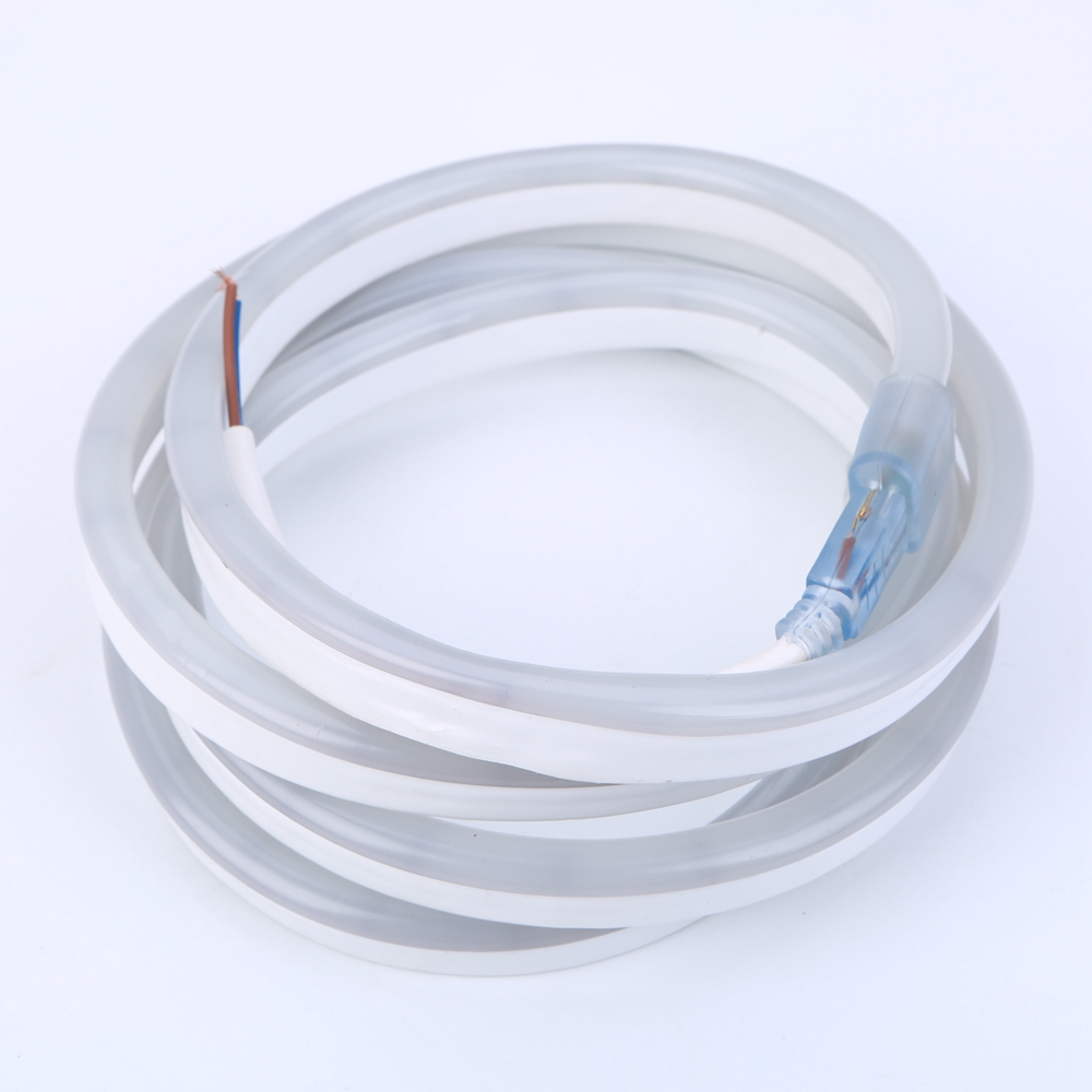 ФОТО DC 12V 5m flexible Led Neon Rope 2835 SMD Waterproof Soft LED light tube strip 120LEDs/m  indoor outdoor
