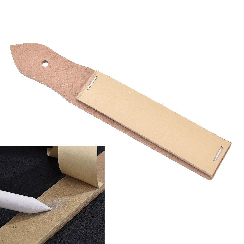 Art Painting Sandpaper Block For Pencil Sharpening Sketch Sandpaper Pencil Pointer Drawing Tool School Sets