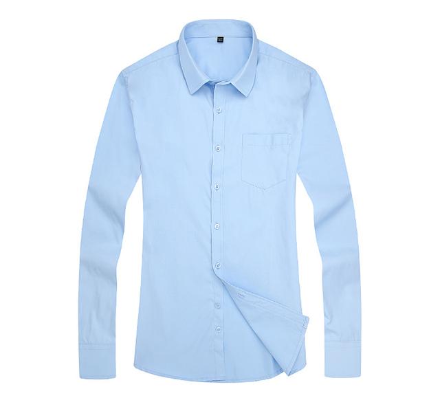 Men's Formal Long Sleeve Button Down Slim Fit Shirt