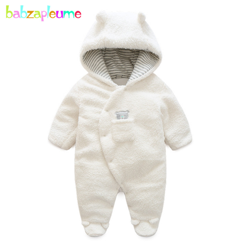 babzapleume autumn winter newborn rompers for baby girls boys clothes cartoon cute hooded unisex jumpsuit infant clothing BC1512 baby clothes 100% cotton boys girls newborn infant kids rompers winter autumn summer cute long sleeve baby clothing