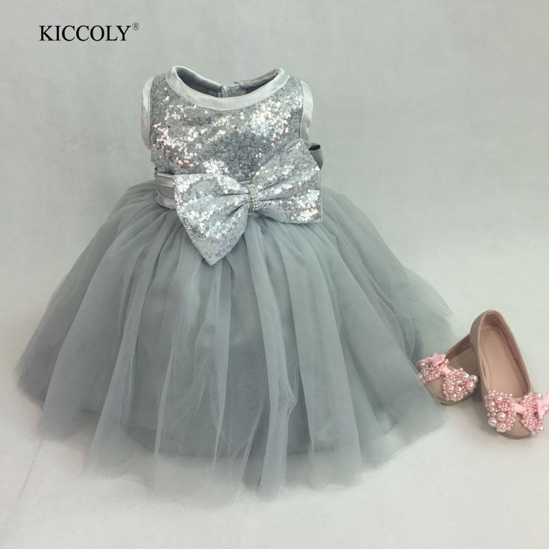 2016 Silver girls dresses summer dresses for 12 year old knee length children party dress child princess costumes summer dresses for girls party dress 100% cotton summer cool and refreshing the harness green flowered dress 1 5years old