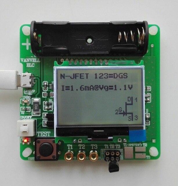 2015 новейшая версия индуктор-конденсатор ESR сопротивления метр DIY MG328 многофункциональный тестер