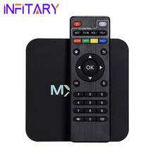 S905 MXQPRO 4 K Android 5.1 TV Box Amlogic Quad Core Smart TV Caja 1 GB 8 GB HDMI 2.0 WIFI Full HD 1080 P Kodi 16.0 Unidades Top TV caja