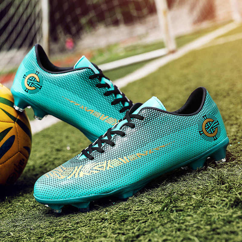 cf4ca861619d 2018 Men Football Boots Superfly Original Messi Soccer AG Cleats CR7 TF  Hard Court Trainers Soccer