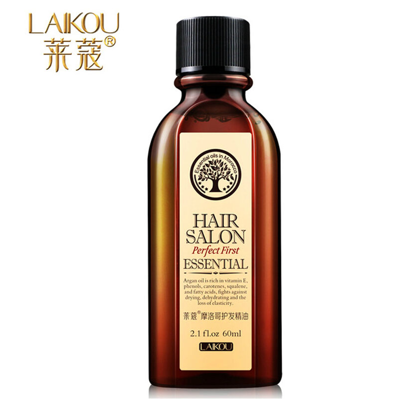Monaco NUT Hair Oil Argan oil 60ml keratin free clean hair curly Hair Treatment hair care mask Free shipping