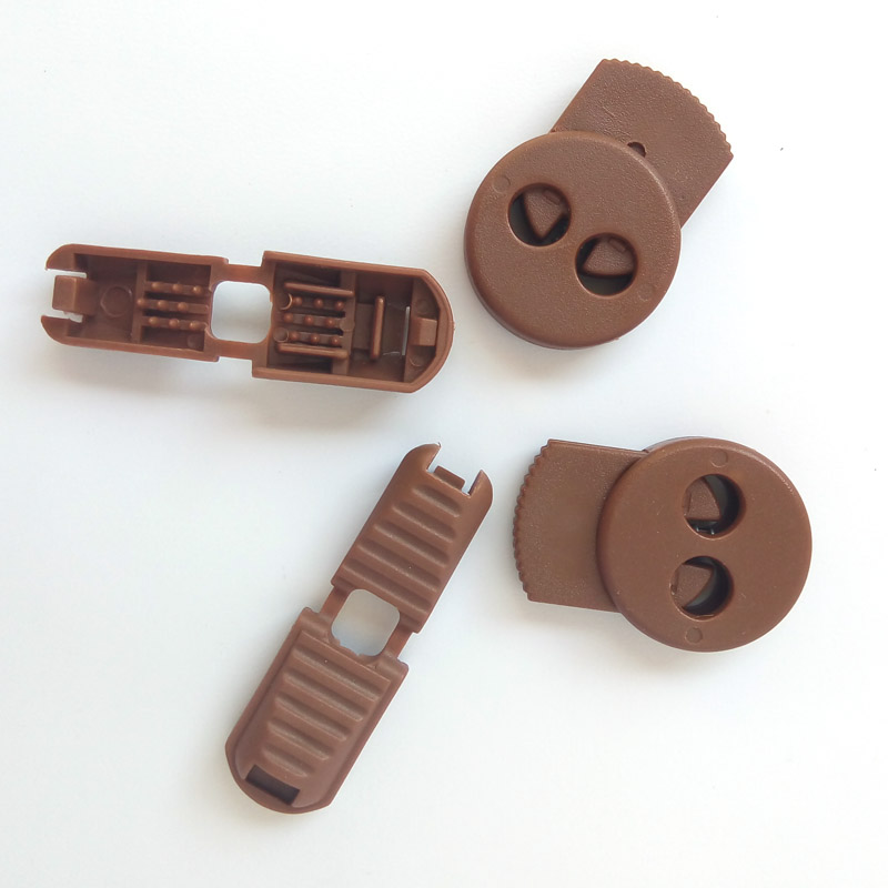 N 1 50 Sets Light Brown Flat Buckle Elastic Shoes Buckles Decorative Buckles Child Adult No tie Shoelaces Never Tie Laces Again in Shoe Decorations from Shoes
