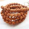 Wholesale Tibetan Buddhist Prayer 108mala 100%Natural Beads High Density Rudraksha Bodhi Seed ,wholesale for all items!