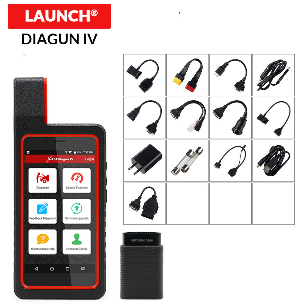 LAUNCH X431 Diagun IV obd2 obdii Scanner Full system Auto diagnostic tool wifi bluetooth support Oil