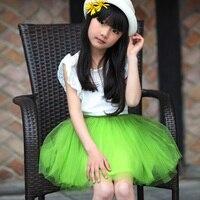 The New Summer Gauze Puff Princess Dress Skirt Color