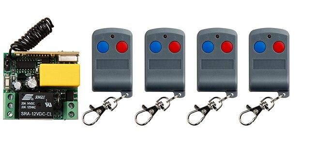 Ac220v 1ch 10a Rf Remote Control Switch System Transmitter