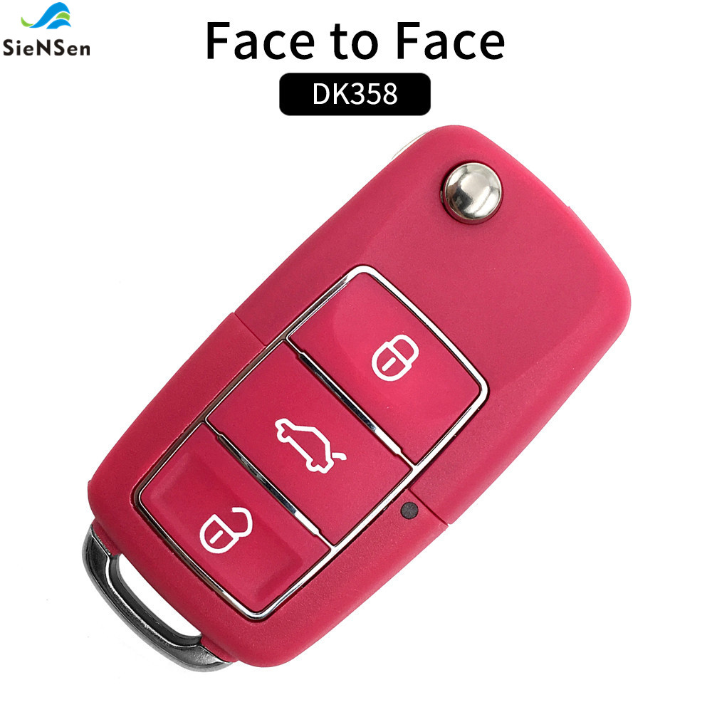 Access Control Honesty Siensen Hottest Colorful 4 Buttons 315mhz Wireless Remote Control Universal Cloning Car Gate Garage Door Key Auto Keychain Dk358 Door Remote Control