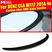 Fits For Mercedes Benz CLA W117 CLA180 CLA200 CLA250 Rear Spoiler AEAMG Style Carbon Rear Frunk Spoiler Wing car styling 2014 18