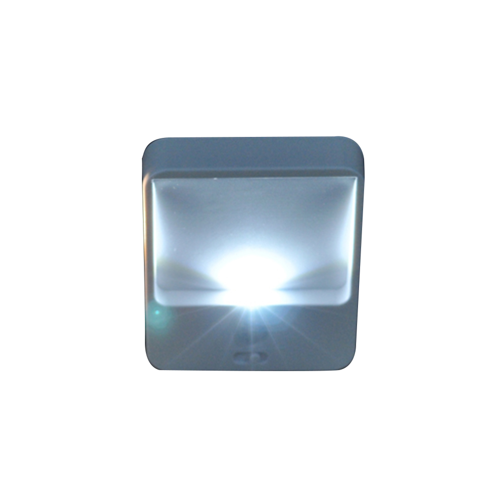 6pcs Bright LED Stair Kitchen Compact Motion Sensor Battery Powered Stick Anywhere Bedroom Hallway Night Light Energy Saving