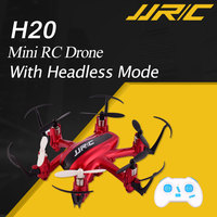 JJRC H20 2.4G 4CH 6Axis Mini Red RC Drone With Headless Mode Quadcopter Helicopter Toys VS JJRC H36 Mini Drone