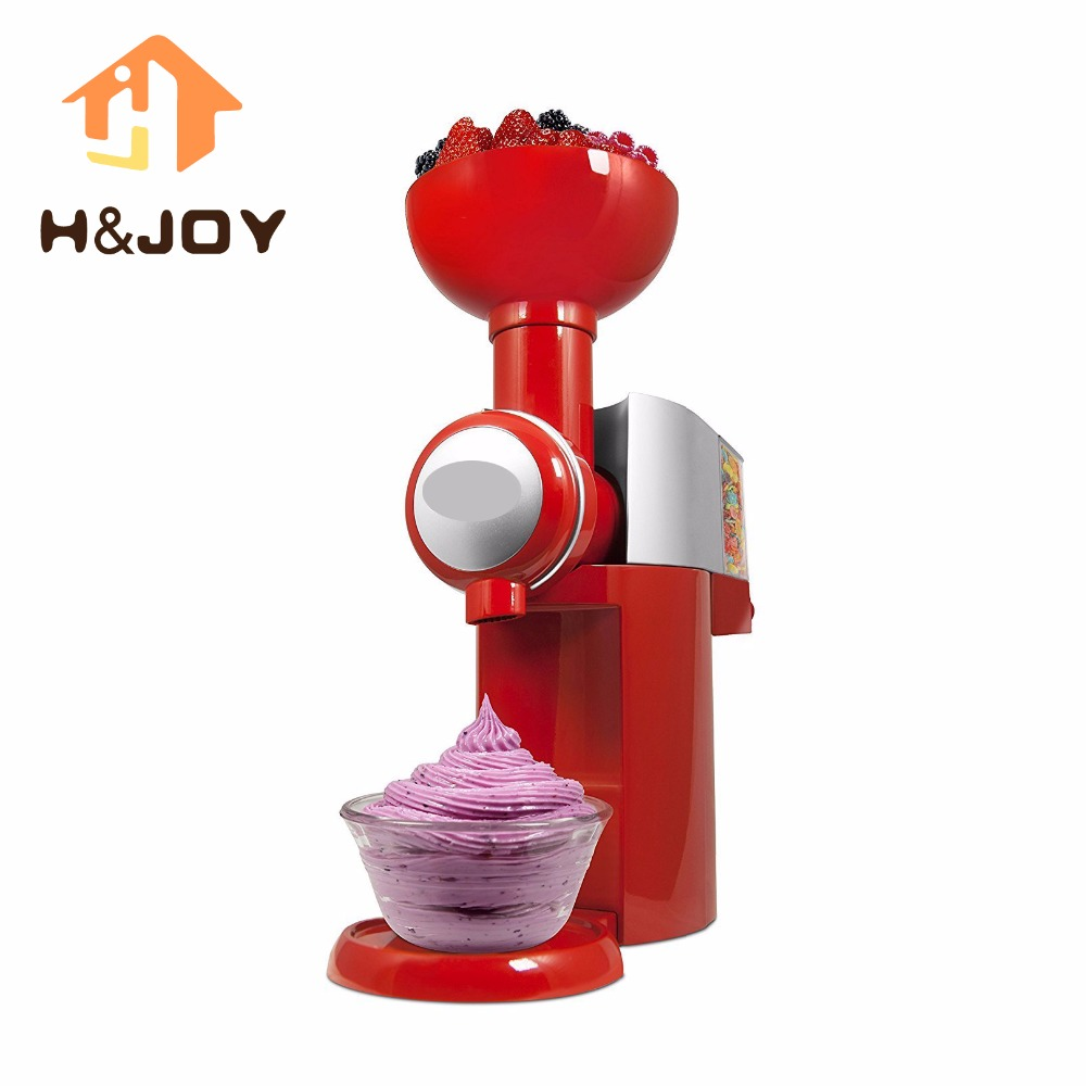 Fruit Ice Cream Maker Tools Mini Slush Machine Household Automatic Frozen Fruit Dessert Machine Milkshake DIY Ice Cream Machine