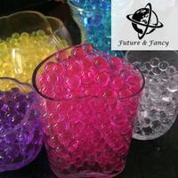 Orden de la muestra! Mágica cristalina Del Suelo Del Fango del Agua Perlas Flor planta De almacenamiento de Regalo de Boda de perlas de Agua perlas de jalea