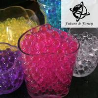 Sample Order! Crystal Magic Mud Soil Water Beads Flower plant For Wedding Gift Water pearl storing jelly beads