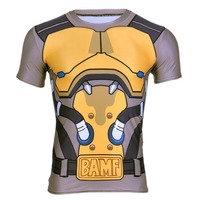 COOL Game 3d Tee Shirt OW Watchman Pioneer MCCREE 3d Printing Tee Shirt Cosplay Show T
