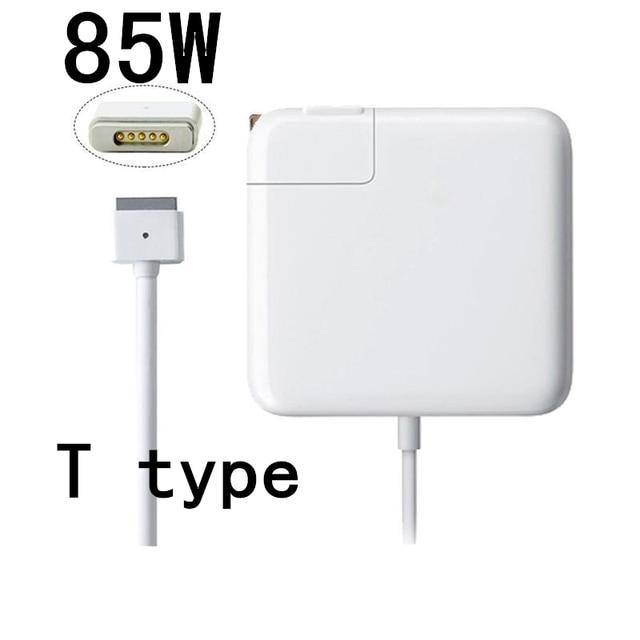 """Горячая! высокое Качество Замена 85 Вт Magsafe2 Адаптер Питания Зарядное Устройство Для MacBook Pro 15 """"17"""" Retina Display 2012 A1425 A1398 A1424."""