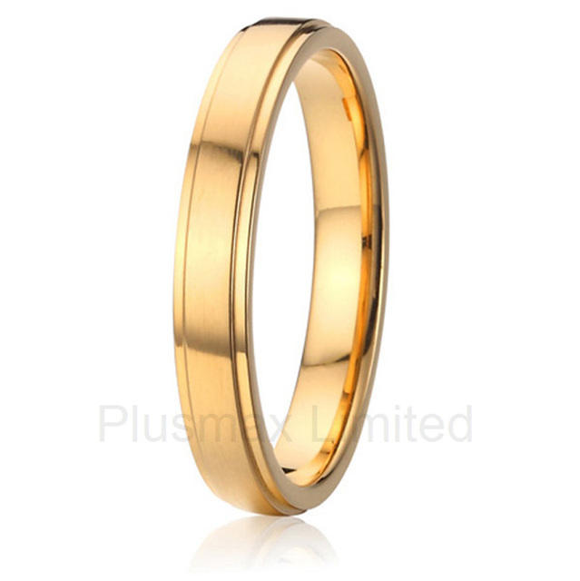 61fef13611 high quality China Supplier slim 4mm wide titanium jewelry male men  engagement wedding band finger rings