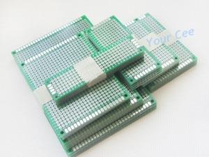 Image 2 - 35 stücke 5x7 8x12 7x9 6x8 4x6 3x7 2x8 cm doppel Seite Bord Kupfer prototyp pcb Universal Platine
