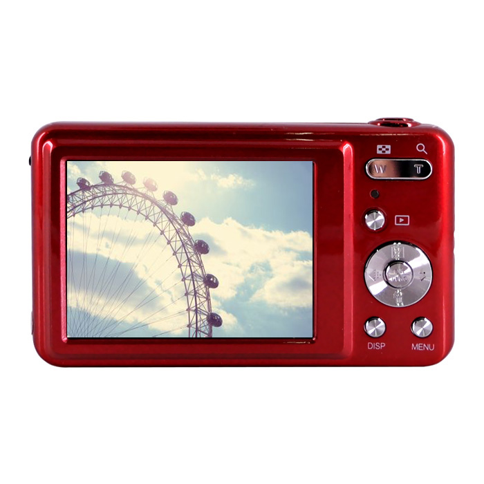 Mini Digital Camera 15Mp with 5X Optical Zoom 2.7TFT Color LCD screen DC-V600 Video PC Camera super dragon 1612hd 12 5x optical zoom professtional digital camera 16mp 720p hd video 2 7 screen disposable camera