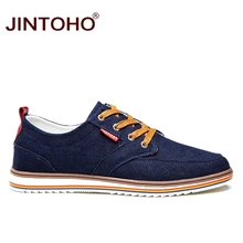 JINTOHO Big Size Breathable Mens Shoes Sales Lace Up Canvas Shoes Luxury Brand Men Shoe Designer China Cheap Shoes