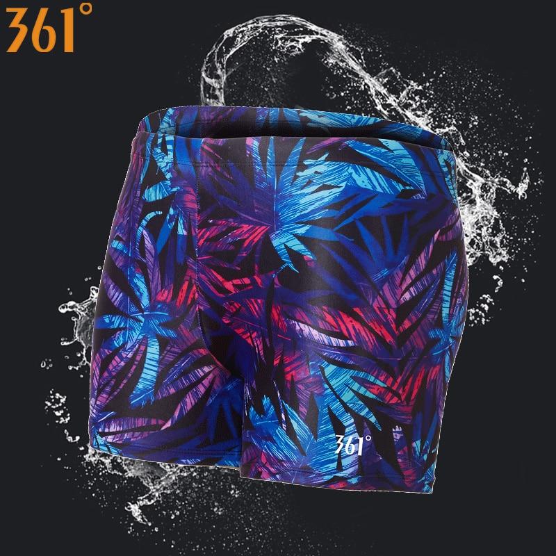 361 Plus Size Swimming Trunks for Men Quick Dry Male Swimwear Shorts Boys Swim Brief Swimming Shorts Men Swimsuit Pool