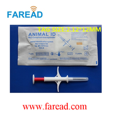 Free Shipping   x1pc   Microchip Scanner  ISO11784/5+x100pcs  2.12*12mm Stanard ISO Chip  Microchip syringe