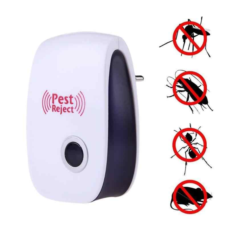 EU Plug Electronic Pest Repeller Ultrasonic Rejector Mosquito Rat Repellent Mouse Rat Mouse Anti Mosquito Repeller killer Rode