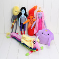 10pcs Adventure Time Lumpy Space Princess Bubblegum Flame Princess Marceline Lemongrab Plush Toy Stuffed Doll Adventure Time toy