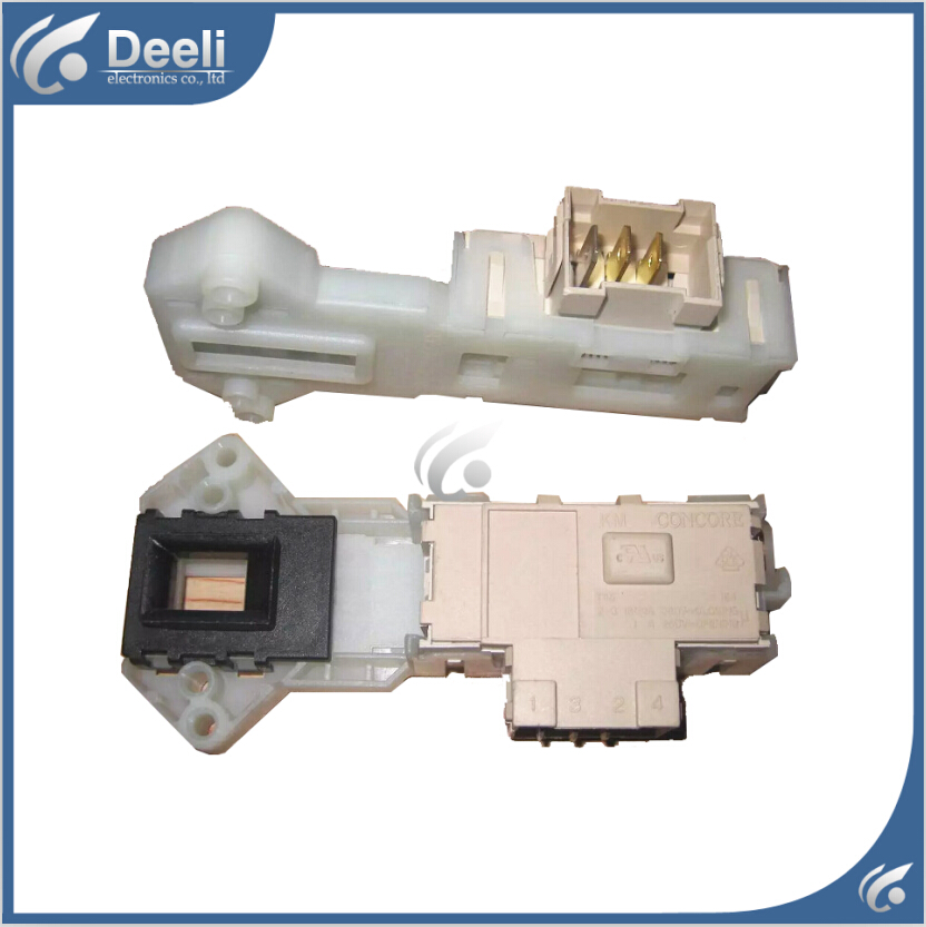 Original new used for Panasonic for little Swan for Haier Washing Machine Blade Electronic door lock delay switch original 95% new used for glanz washing machine blade electronic door lock delay switch