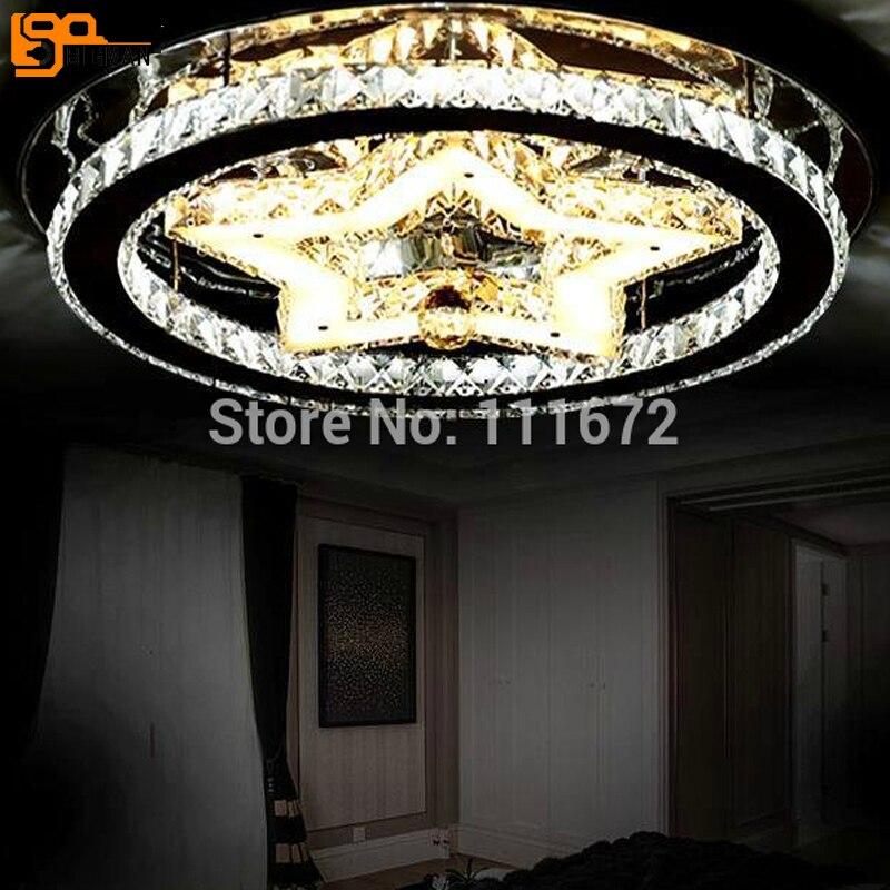 Us 26522 11 Offnowy Projekt Nowoczesne Oświetlenie Sufitowe Led Kryształ Lampa Sufitowa Lustre Cristal Lampa Do Sypialni W Oświetlenie Sufitowe Od