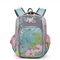 2017 NEW Russia Kids Backpack Cute Cartoon School Bags Orthopedic Waterproof Children Primary School For Girls